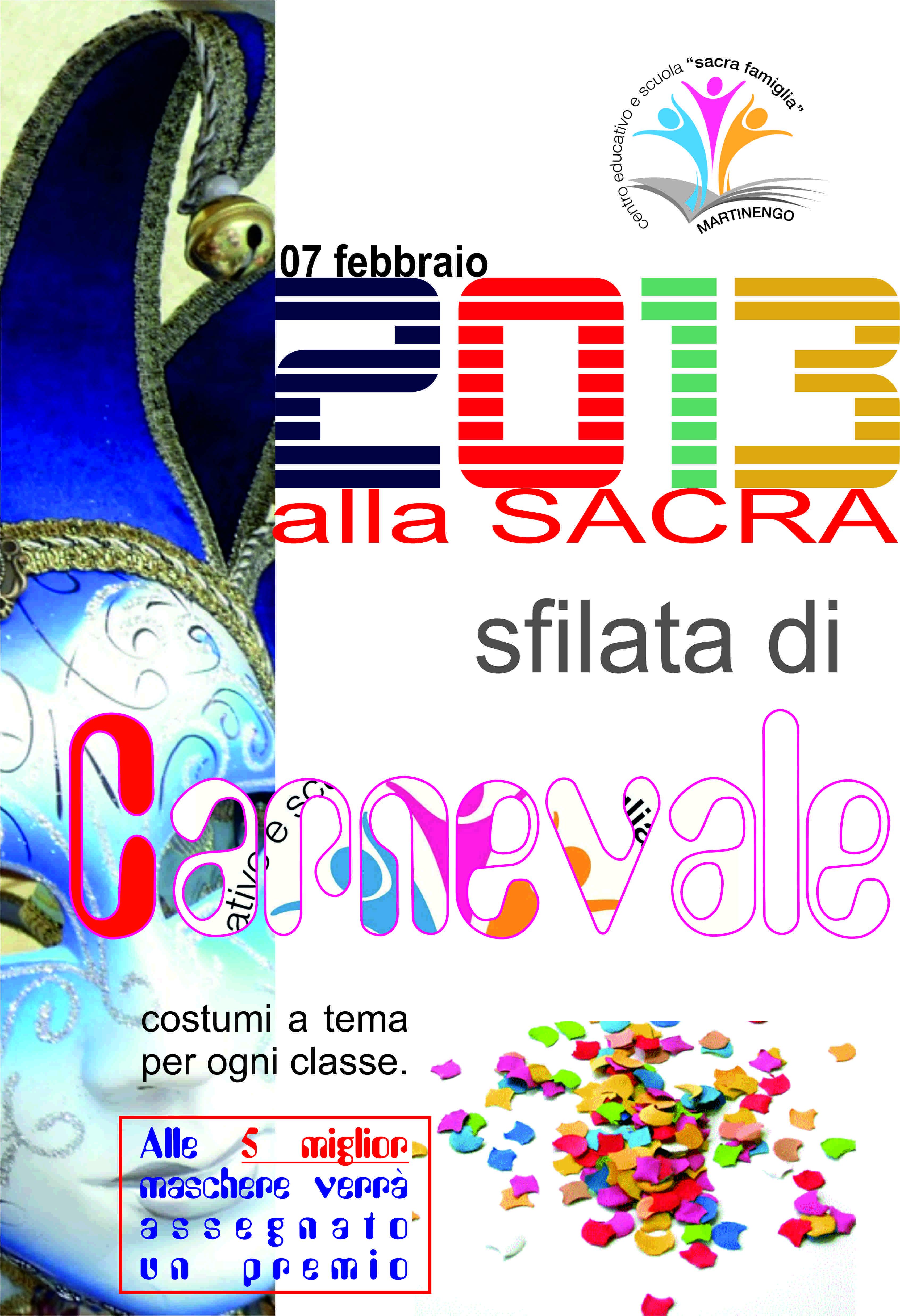I TEMI del CARNEVALE 2013