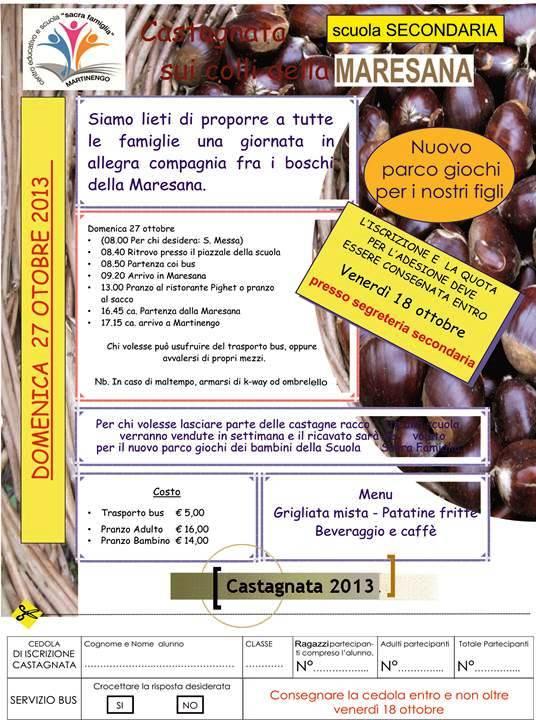 Programma Castagnata 2013