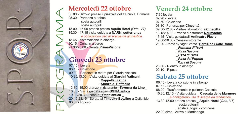 PROGRAMAM ROMA 2014