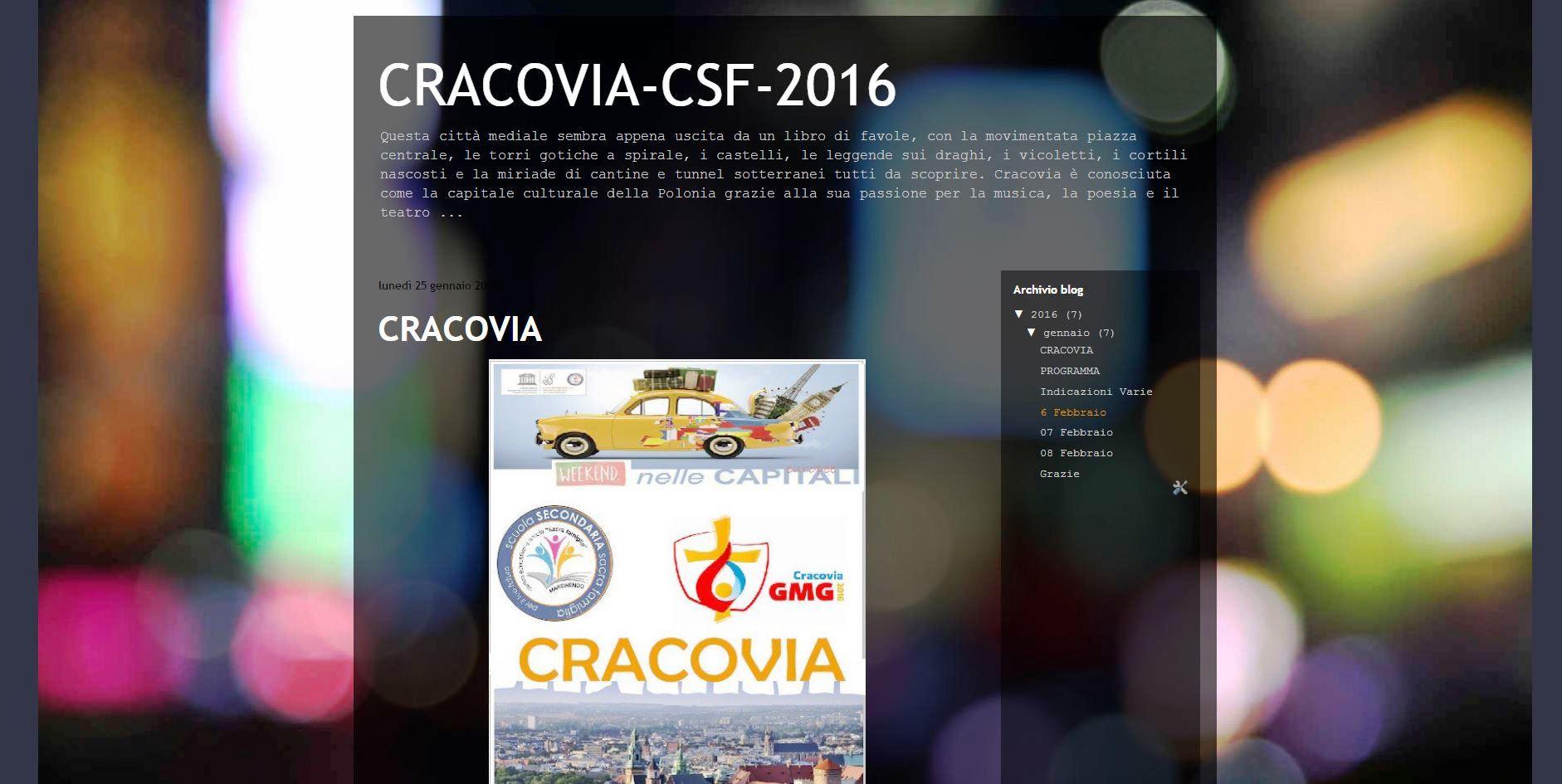 blog cracovia